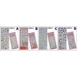 水晶貼紙 A、B、C、D、E、F